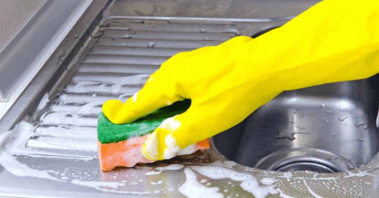 como limpar placa de inox